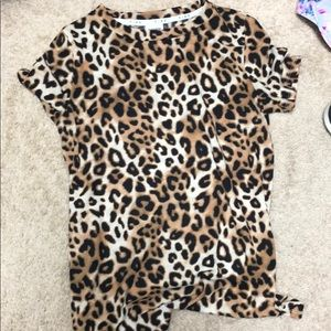 Leopard T-shirt from PINK